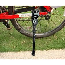 "Aluminium Bicycle Kickstand Black Fit 16""/20""/24""/26"" Tire & 700 Road Bicycle"