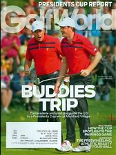 2013 Golf World Magazine: Phil Mickelson & Keegan Bradley US Wins Presidents Cup