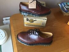 Vintage Dr Martens 1561 red brown leather shoes UK 7 EU 41 mod skin England