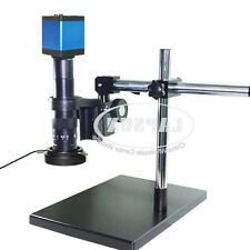 Dual Arm 180X HDMI 1080P HD Digital Lab Industrial C-mount Microscope Camera A30