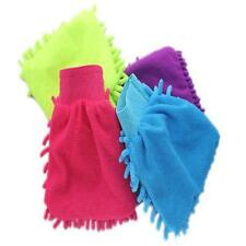 Super Mitt Microfiber Car Window Washing Cleaning Cloth Duster Towel Gloves BR