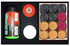 BRAND NEW CARROM BOARD SET WITH COINS  ~~ FREE ~~  STRIKER + POWDER
