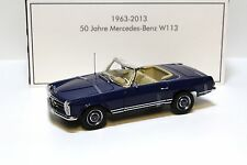 1:18 Norev Mercedes 230SL Pagode W113 *IAA 1963* blue NEW bei PREMIUM-MODELCARS