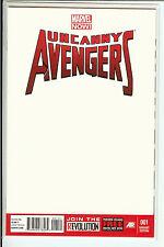 Uncanny  Avengers #1 Marvel Now! Blank Variant NM
