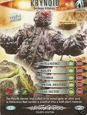 DR WHO ULTIMATE MONSTERS 689 KRYNOID (HUMAN HYBRID)