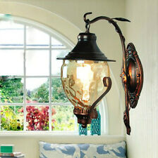 1 PC European Vintage Style Outdoor Antique Single Light Wall Lamp Style 0062