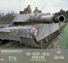 Verlinden Productions Book WarMachines No.6 : M1 - M1 IP - M1A1 Abrams MBT 581