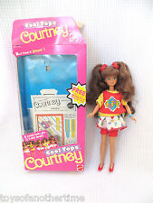 Cool Tops Courtney Doll 1989 Skipper friend with box + accessories classic 1980s