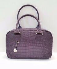 Dooney & Bourke Small Canyon Leather Satchel (Lavender)