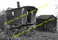 Photo - Abandoned gypsy caravan, date & location unknown