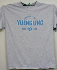 Yuengling University Beer/Lager Brewery T-Shirt   XL  *EUC!  Gray