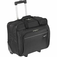 "16"" Flight Pilot Case Laptop Travel Bag Hand Luggage Suitcase Roller Wheels Case"