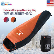 Winter Compact Ultralight Outdoor Camping Mummy Sleeping Bag Thermal Hiking Tent