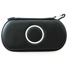 Black Hard Case Protective Carry Cover Bag Pouch For Sony PSP 1000 2000 3000