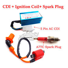 Racing Ignition Coil Spark Plug AC CDI For CRF50 XR50 KLX Dirt Pit Bike ATV Quad