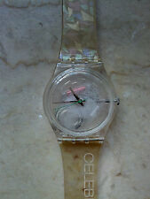 "orologio swatch STANDARD GENT modello""MOTHERS OF PEARLS""GK313 anno 2000 NUOVO"