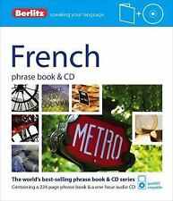 Berlitz: French Phrase Book and CD by Berlitz Publishing Staff (2012, Paperback)