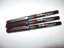 Rotring / Paper Mate Tikky Graphic Pens  0,8 mm  (3 Stück)  Angebot !!!