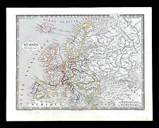 1835 Monin Fremin Map - Europe France Spain Italy Germany Austria Great Britain
