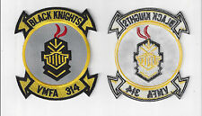 JACKET PATCH-UNITED MARINE CORPS MARINE FIGHTER ATTACK SQUADRON 314 BLACK KNIGHT