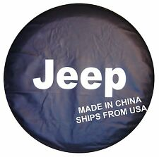 "China Spare Wheel Tire Tyre Cover 30"" For Jeep Liberty & Wrangler ships from FLA"
