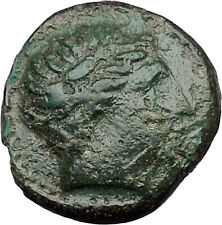 Philip II Alexander the Great Dad OLYMPIC GAMES Ancient Greek Coin Horse i31270