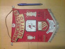 gagliardetto Football Pennant - MANCHESTER UNITED 1968