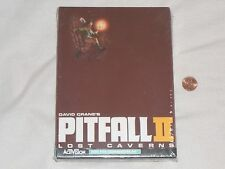 NEW Pitfall II 2 Lost Caverns Commodore 64 Game DISK VERSION c64 FACTORY SEALED