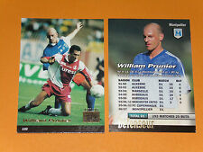 WILLIAM PRUNIER SC MONTPELLIER PAILLADE MOSSON FOOTBALL CARD PANINI 1996-1997