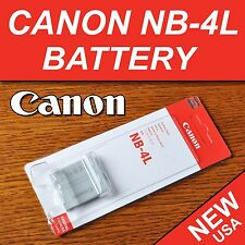New NB-4L Battery for Canon IXY PowerShot ELPH 100 HS, 300 HS, 310 HS