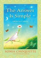 The Answer Is Simple Oracle Cards by Sonia Choquette (2009, Cards,Flash Cards)