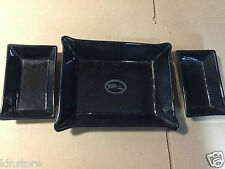 Lot de 3 Ravier Longchamp Paris Made in France