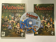 WINDOWS PC CD-ROM GAME MEDIEVAL CONQUEST O/S WIN 98 ME 2000 XP