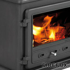 Stove Fire Glass Firefox 8 370 x 225mm x 4mm INC SEAL High Quality Robax Glass