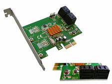 Controleur PCIE SATA 3  6GB /// 4 PORTS /// MARVELL 88SE9215 - POUR HDD ET SSD