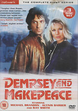 DEMPSEY AND MAKEPEACE - 1st Series. Glynis Barber, Michael Brandon (3xDVD BOX SE