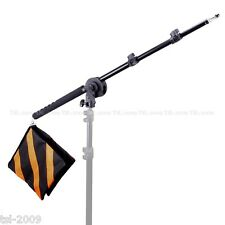 67-170cm Portable Hand Held Flashgun Boom Arm Set Grip Lock Head Outdoor