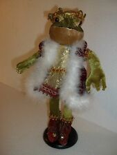 Royals Frog Prince Display on stand Prince Charming Royalty King Stuffed Animal