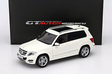 Mercedes-benz glk año de construcción 2013 blanco 1:18 Welly GTA