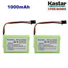 2 x 3.6V 1000mAh Cordless Phone Battery for Uniden BT-446 BT446 BT-1005 BT1005