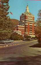 HOT SPRINGS VA The Homestead Tower Cadillac Rolls Royce ? postcard