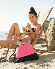 NWT VICTORIA'S SECRET BEACH COOLER TOTE BAG PURSE 2016
