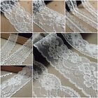 VINTAGE antique off White/Ivory LACE RIBBON WEDDING TRIM Bridal Shabby dress diy