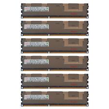 24GB Kit 6x 4GB HP Proliant BL28C BL2X220C DL160 DL170E SL160Z G6 Memory Ram