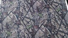 "72"" IN HTC TRUE TIMBER CAMOUFLAGE AUTO HEADLINER CAMO FABRIC 3/16"" FOAM BACKING"