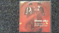 Jeanne Mas - On the moon/ It's all up to you 7'' Single SUNG IN ENGLISH