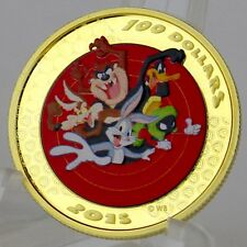 Canada 2015 $100 Looney Tunes Bugs Bunny & Friends Gold Proof with Pocket Watch