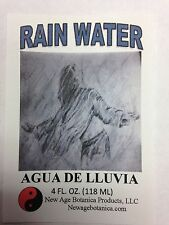NEW AGE BOTANICA PRODUCTS GENUINE RAIN WATER 4 FL OZ ( AGUA DE LLUVIA)