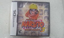 Naruto: Ninja Council 3 Nintendo DS Brand New & Sealed
