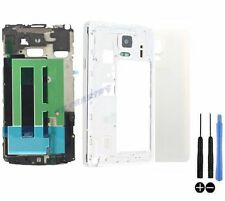 COQUE COMPLETE REMPLACEMENT ARRIERE CHASSIS SAMSUNG GALAXY NOTE 4 N910F BLANC